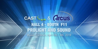 Arcus demos wysiwyg, BlackTrax and Vivien at Prolight+Sound 2016
