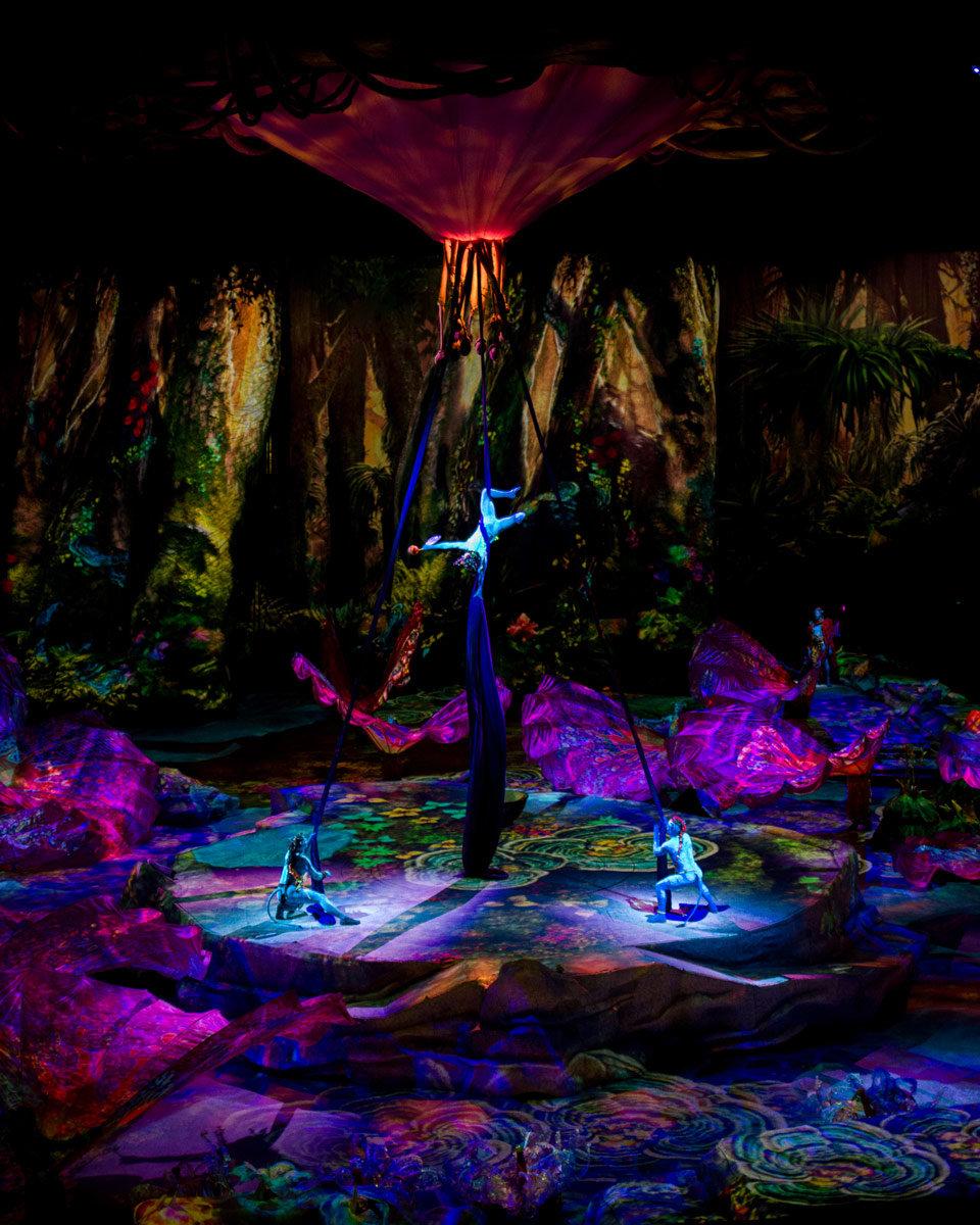 Avatar 2 Cast: Cirque Du Soleil Flies Into Avatar With BlackTrax