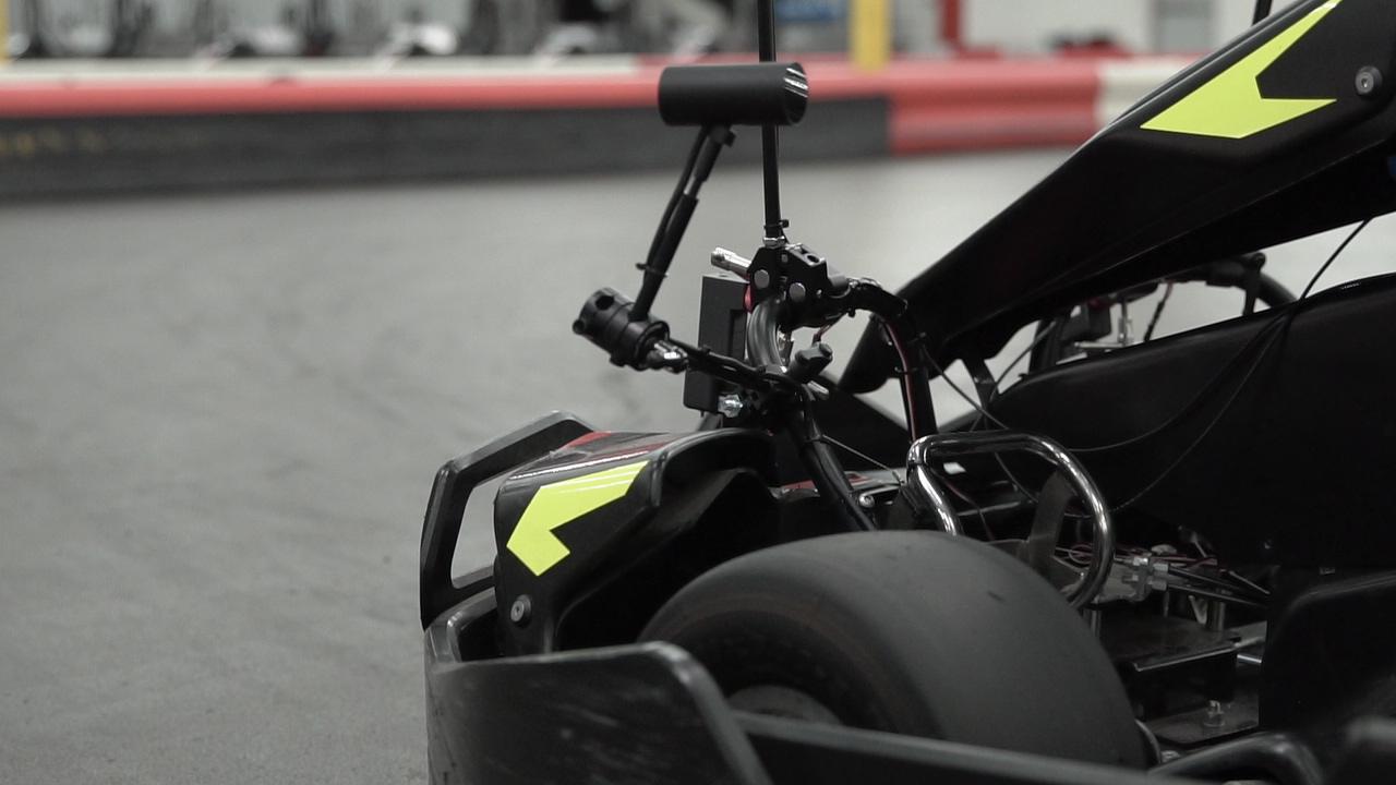 Virtual Reality Go-Karts from Master of Shapes and BlackTrax