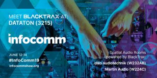 BlackTrax Integrates with Spatial Audio Systems for Automated Solutions at InfoComm