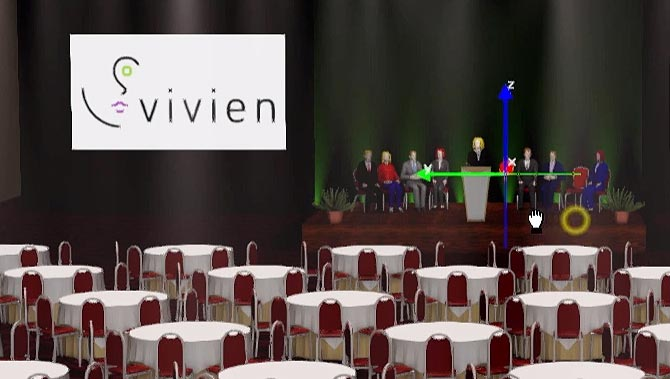 4 – Navigating Vivien's Virtual View