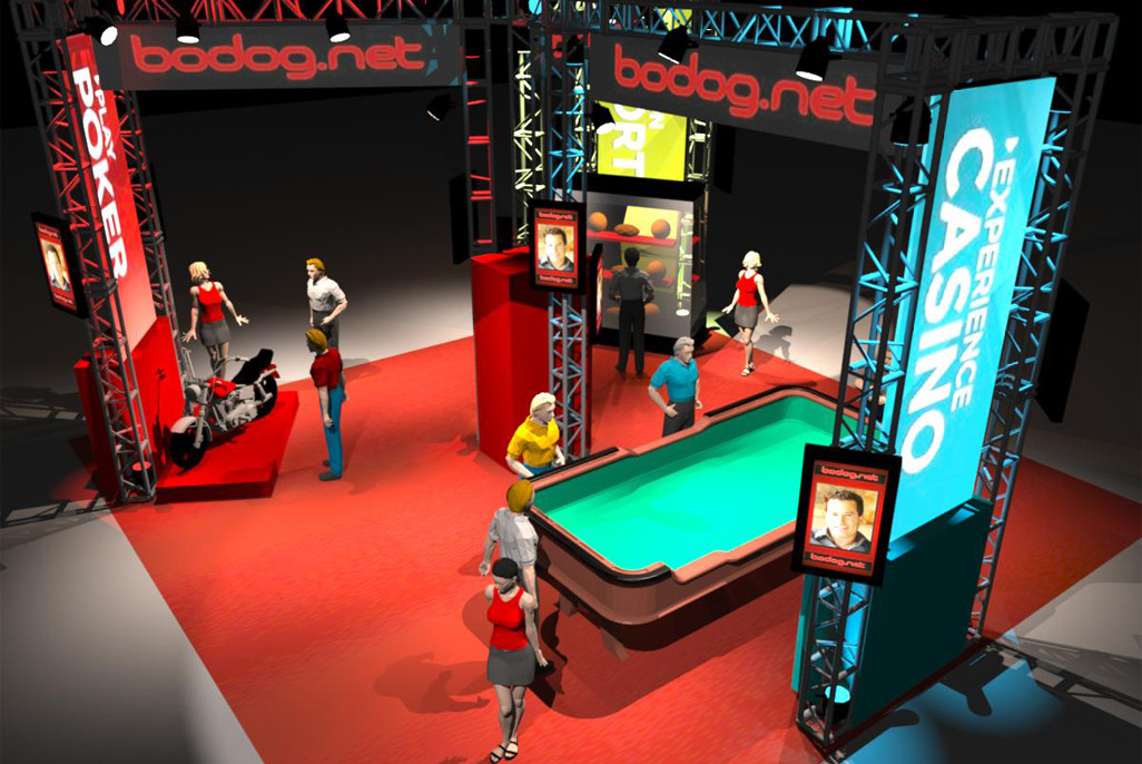 Bodog Trade Show Booth Proposal